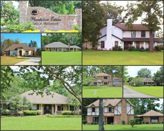 Plantation Estates Collage