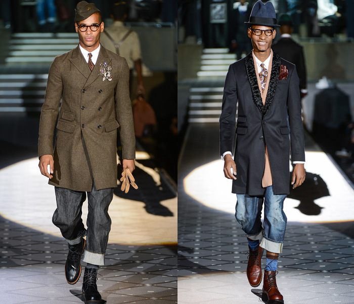 Dsquared2 20132014 Fall Winter Mens Runway Collection