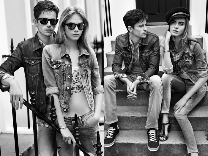 Fall Collage Wallpaper Pepe Jeans London 2013 Spring Summer Ad Campaign Denim