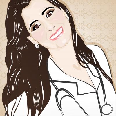 Amanda - retrato-colorido