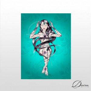 Intuição - poster sem moldura - Denise Bruno