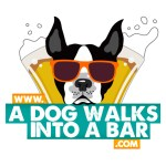 A Dog Walks Into a Bar Logo