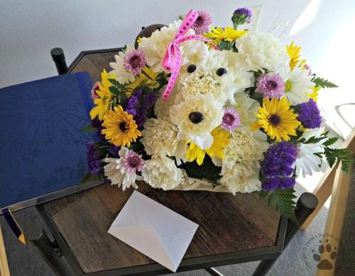 Snapshot Sundays March 2017: Bouquet shaped like a dog