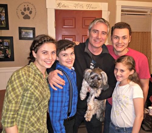 Snapshot Sundays March 2017: Shasta, Denton & the Magee Pack