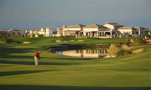 Aphrodite Hills golf school