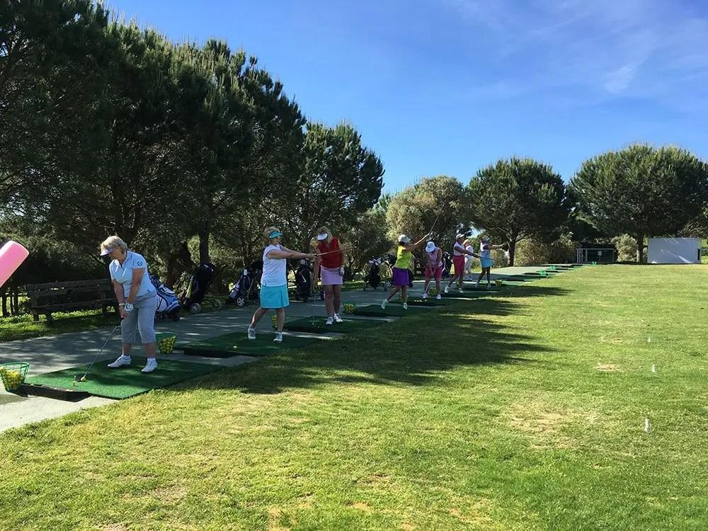 El Rompido golf school May 2017