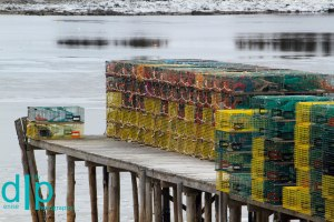 Lobster Traps; Mount Desert Island, Maine