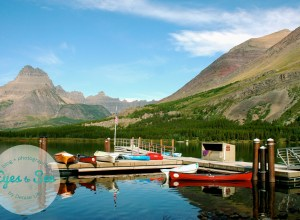 Land and Water, Glacier National Park, Montana