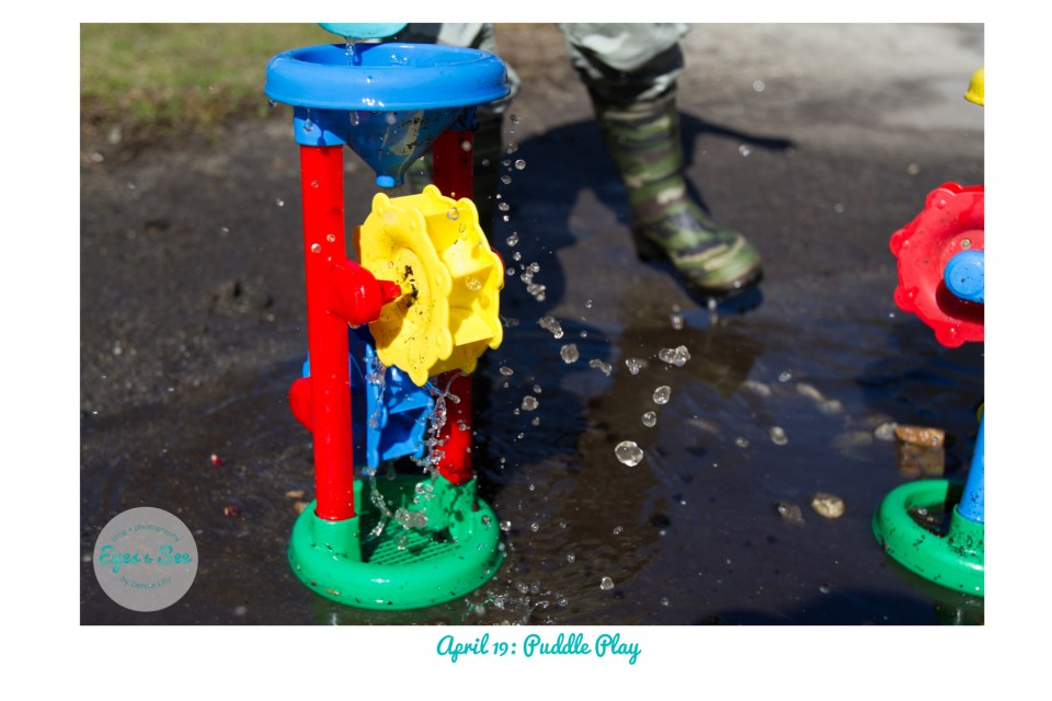 April 19 Puddle Play
