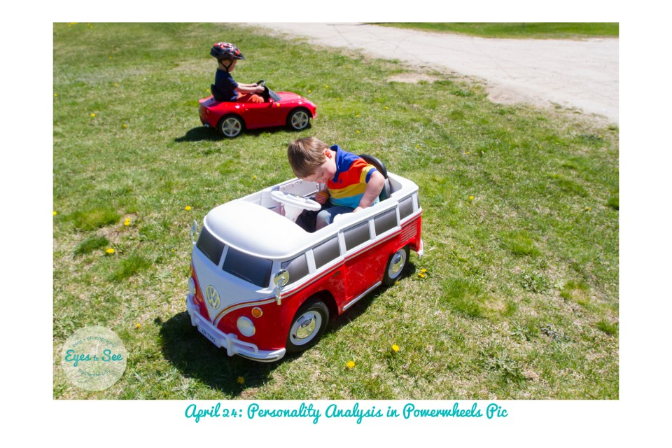 April 24 Personality Powerwheels