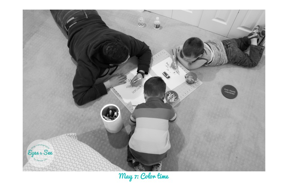 May 7 Color time