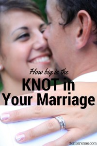 How Big is the Knot in Your Marriage?