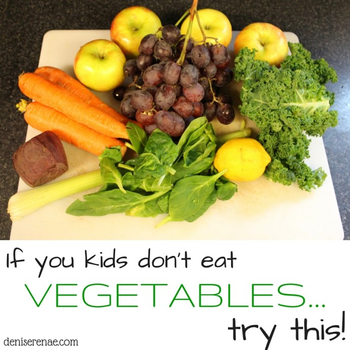 Do you have a picky eater? One who will refuse those greens? You're at your wits end to try and get vegetables into your child? Try this one trick to get greens inside of your child's body.