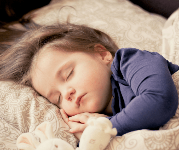 Bedtime routine with our four children, aged six and under, was extremely stressful for me (even with my husband's help). Here are the two strategies we use now to relieve that bedtime stress…