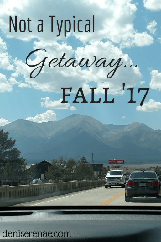 We did it again, my husband and I hit up another quarterly Getaway! As most of you know, my husband and I go on a Getaway, just the two of us, every three months. Here is insight on our fall '17 Getaway.