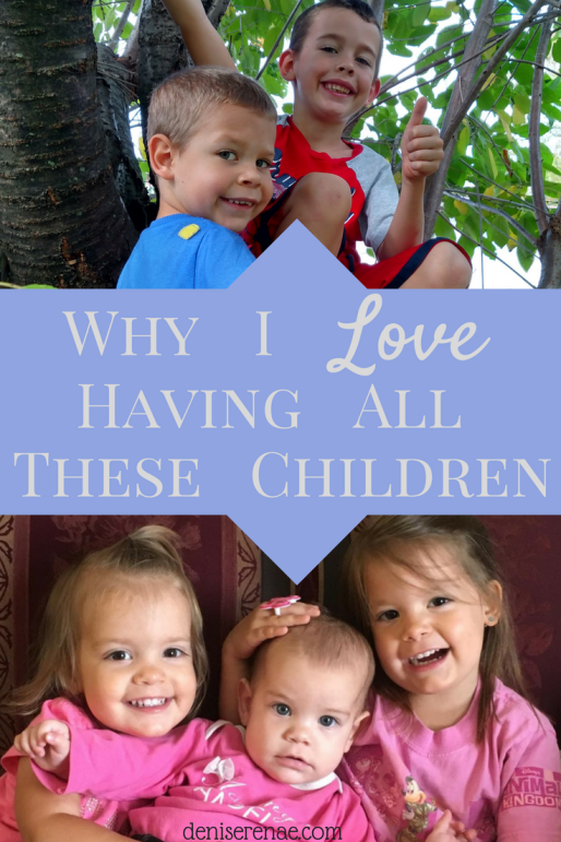 As a mom of five young children, I have many positive moments with these children. Here is my list of why I love having all these children. #manykids #whyilovehavingallthesechildren #thismomisblessed