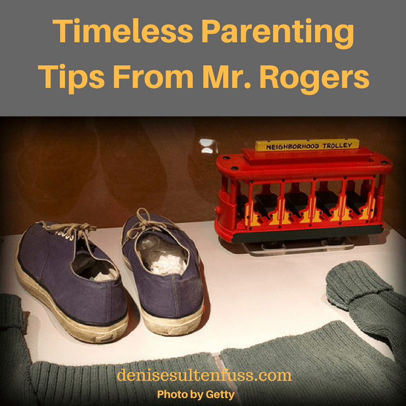 Mr. Rogers, parenting tips