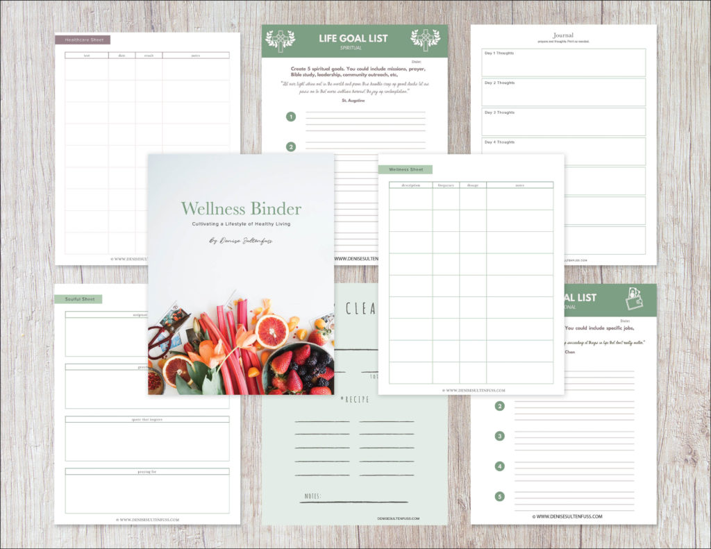 wellness binder