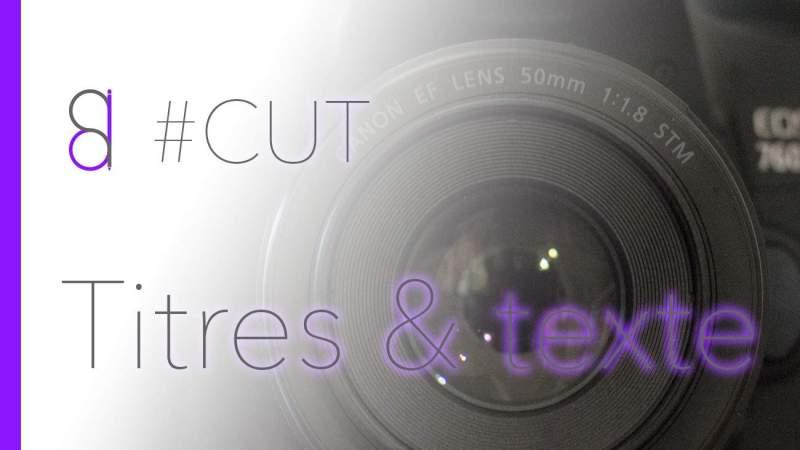 Comment révéler un texte dans Adobe Premiere Pro ?
