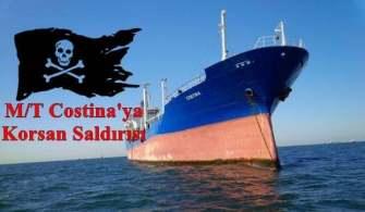 M/T Costina Gemisine Korsan Saldırısı