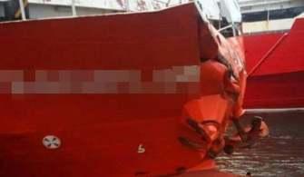 Marmara'da Feribot ile Yük Gemisi Çatıştı!