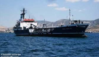 Yunan Bayraklı Tanker Taşıdığı 2500 Ton Yakıtla Birlikte Battı