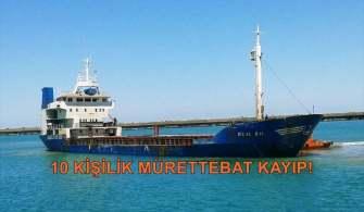 Son Dakika: Batan M/V Bilal Bal Gemisinin Personel Listesi Açıklandı