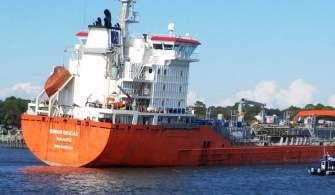Karaya Oturan Gemi Saniye Saniye Görüntülendi I Video