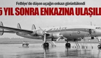 Fethiye'deki Uçak Enkazına Türk Deniz Kuvvetleri Ulaştı