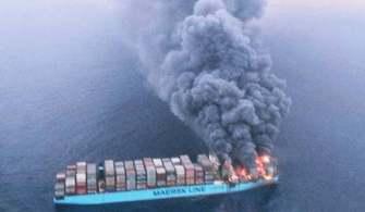 Maersk Honam İsimli Gemide Büyük Yangın – Kayıplar Var
