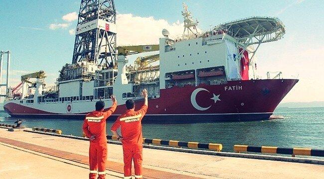 """İlk Sondaj Gemimiz """"Fatih"""" Bu Hafta Sefere Çıkıyor"""