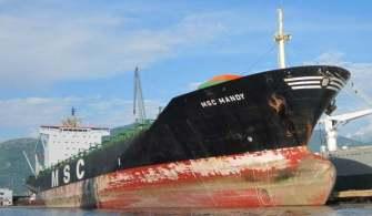MSC Gemisine Korsan Saldırısı