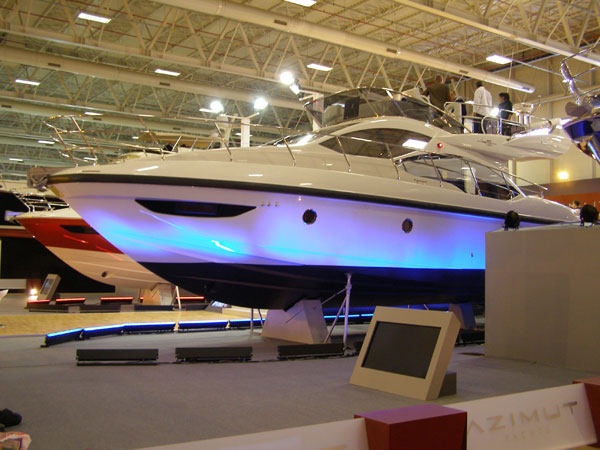 Azimut 45 - TÜYAP Boat Show 2012