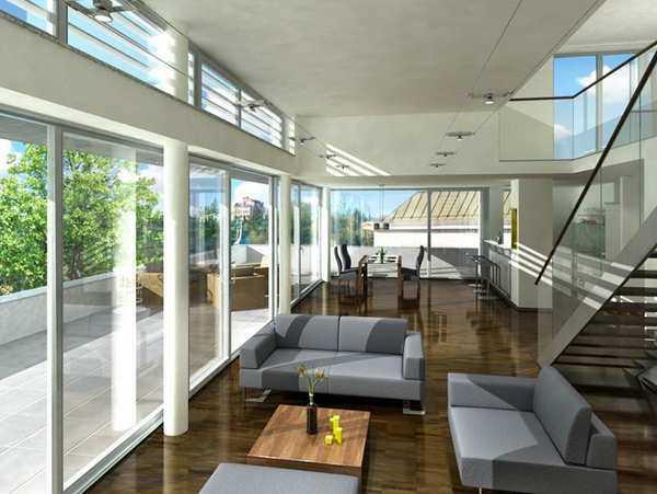 Salzburg Stadt Traumhafte Penthouse Wohnung in nchst
