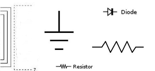 Electronic Circuit Diagram Symbols – Ireleast