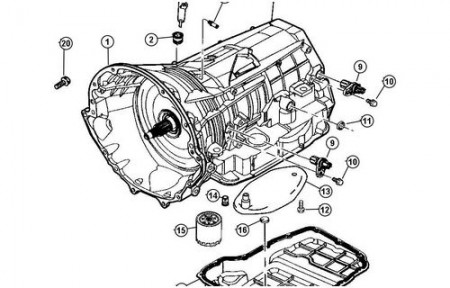 42rle Transmission Sensor Diagram, 42rle, Free Engine