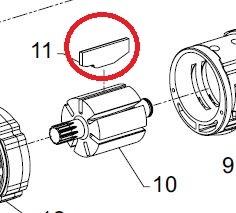 Air Tool: Air Tool Vanes