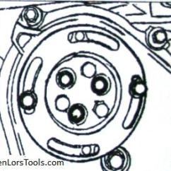 Chevy 2 Engine Diagram Mazda 6 Wiring Gg Gm Ecotec Water Pump Job Made Easy J 43651 Tech Articles