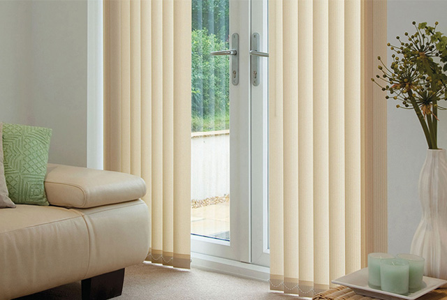 Bespoke Vertical Blinds in London