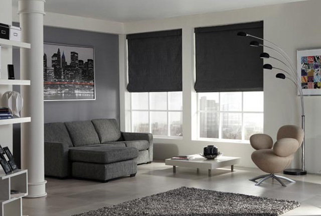 Roman Blinds Made to Measure London
