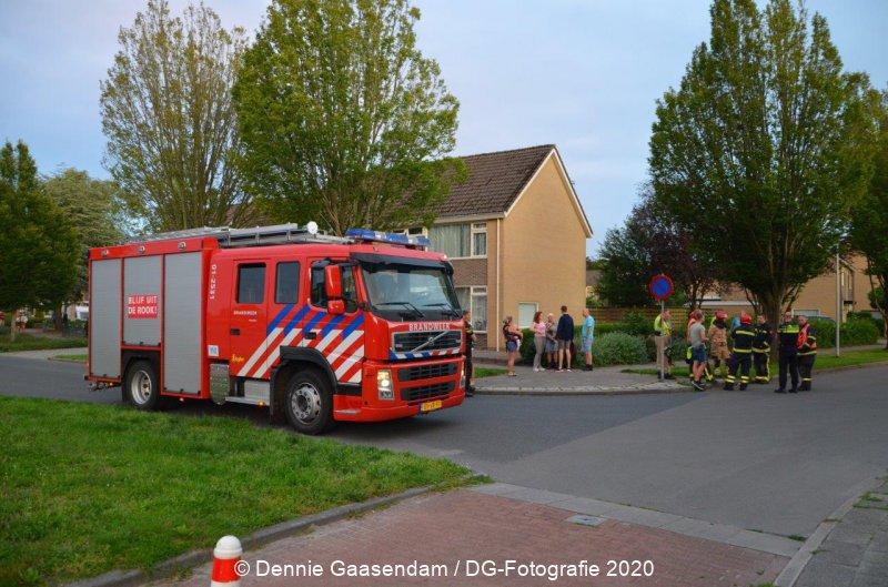 Brandweer Veendam rukt uit voor Aardgas lekkage en CO melding #Veendam #brandweer #112.