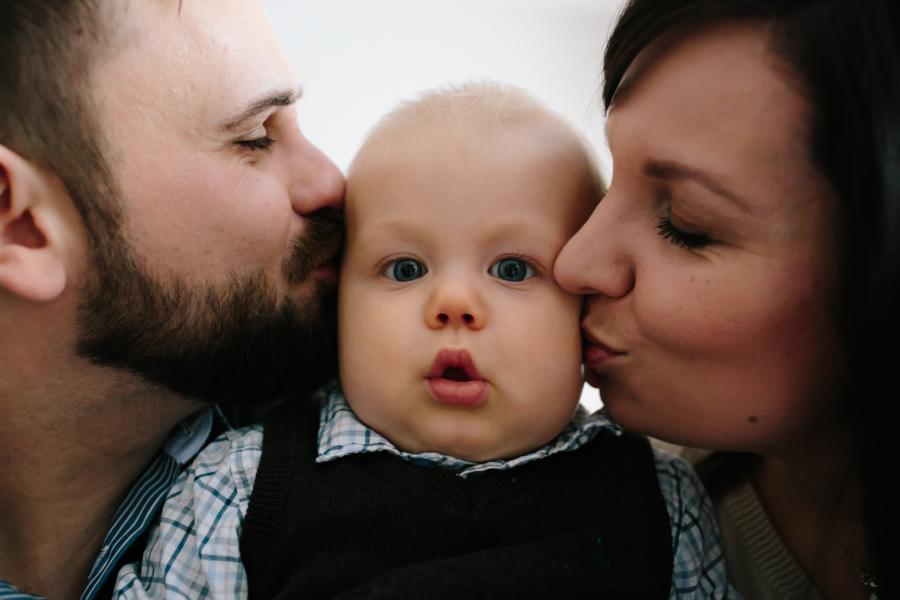 Familienfotos zum ersten Geburtstag  DENNIS HAYUNGS