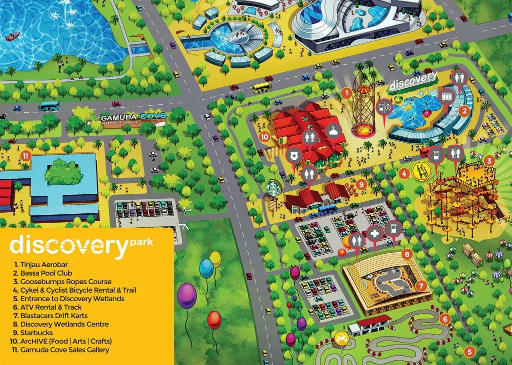 Park Maps Discovery Cyberjaya