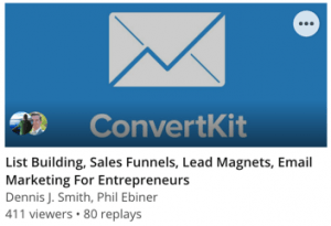 List Building, Sales Funnels, Lead Magnets, Email Marketing For Entrepreneurs