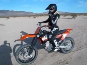 woman rider