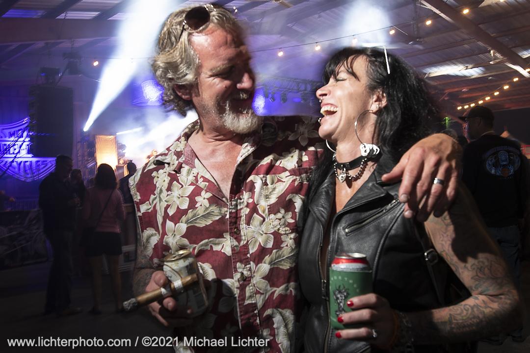 BC Moto invited builder Rick Dozer and his wife Brandy