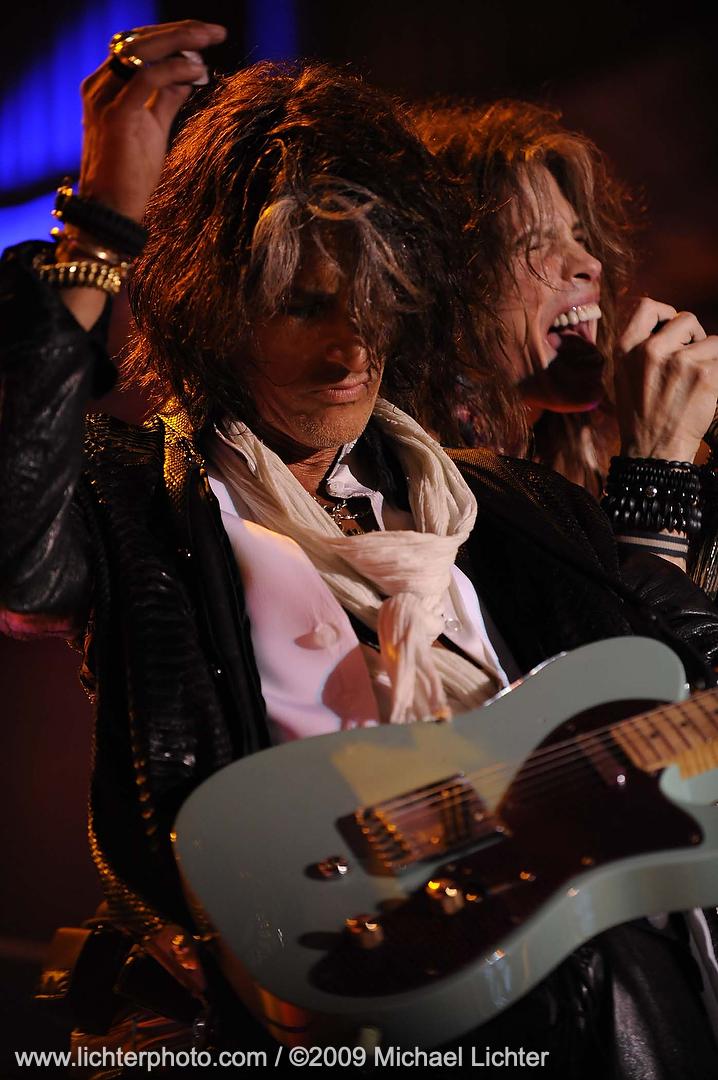 Aerosmith concert at the Buffalo Chip
