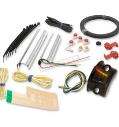grip warmer kit for 1 in or 1 1 4 in handlebars  [ 1200 x 1200 Pixel ]