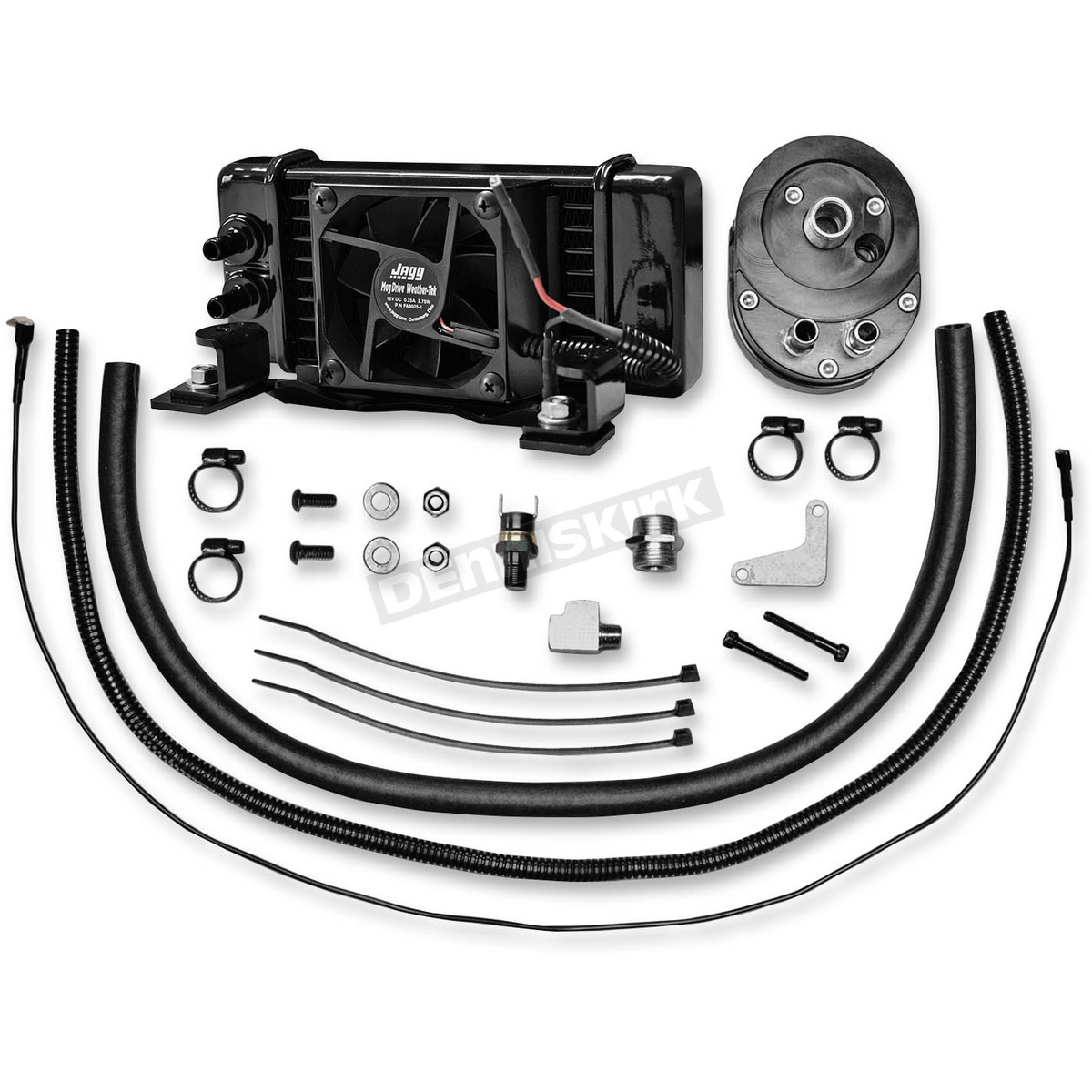 Jagg Low Mount Fan Assisted Oil Cooler Kit