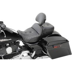 Road Sofa Seat Goldwing Chesterfield Velvet Tufted Saddlemen W Backrest 808 07b 085 Harley